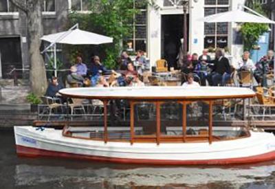 Afbeelding van Salonboot Rondvaart Amsterdam